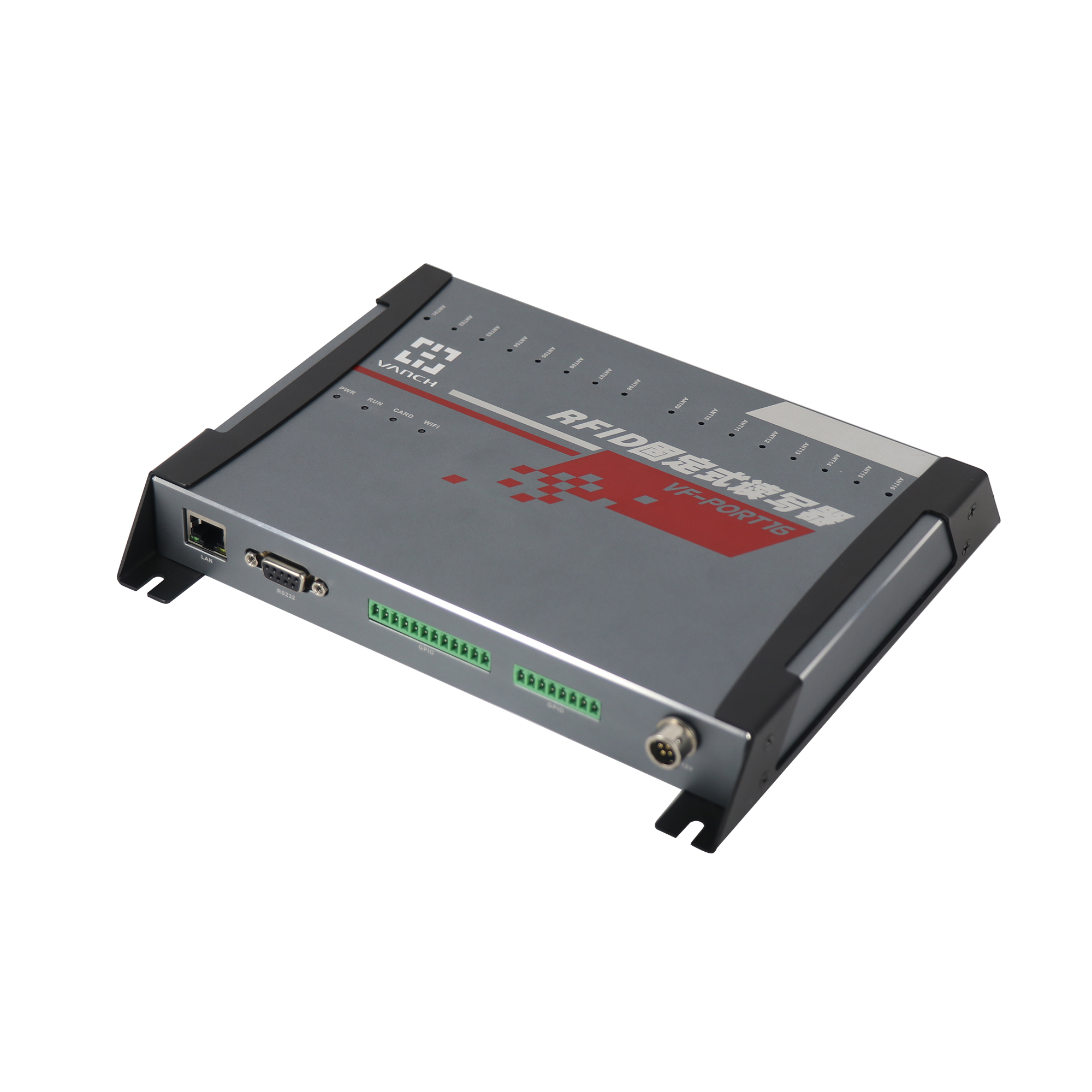 VF-P16 16 channels UHF RFID Fixed Reader