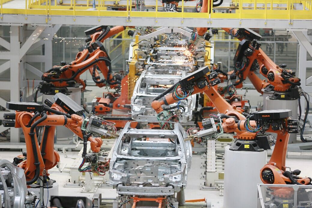 Application of RFID in automobile production lines