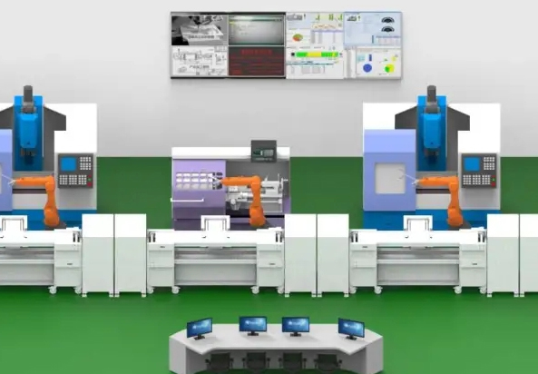 Industrial intelligent manufacturing production line applies RFID technology to realize production visualization management